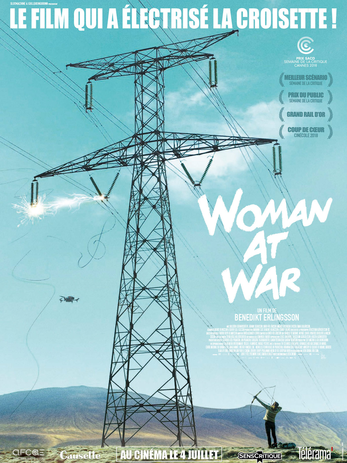 Woman at war - Benedikt Erlingsson,