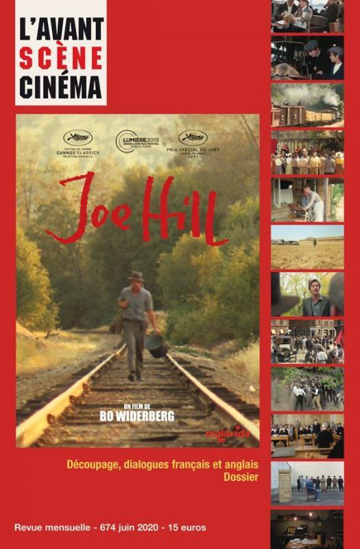 Couverture numero 674 avant scene cinema joe hill bo widerberg