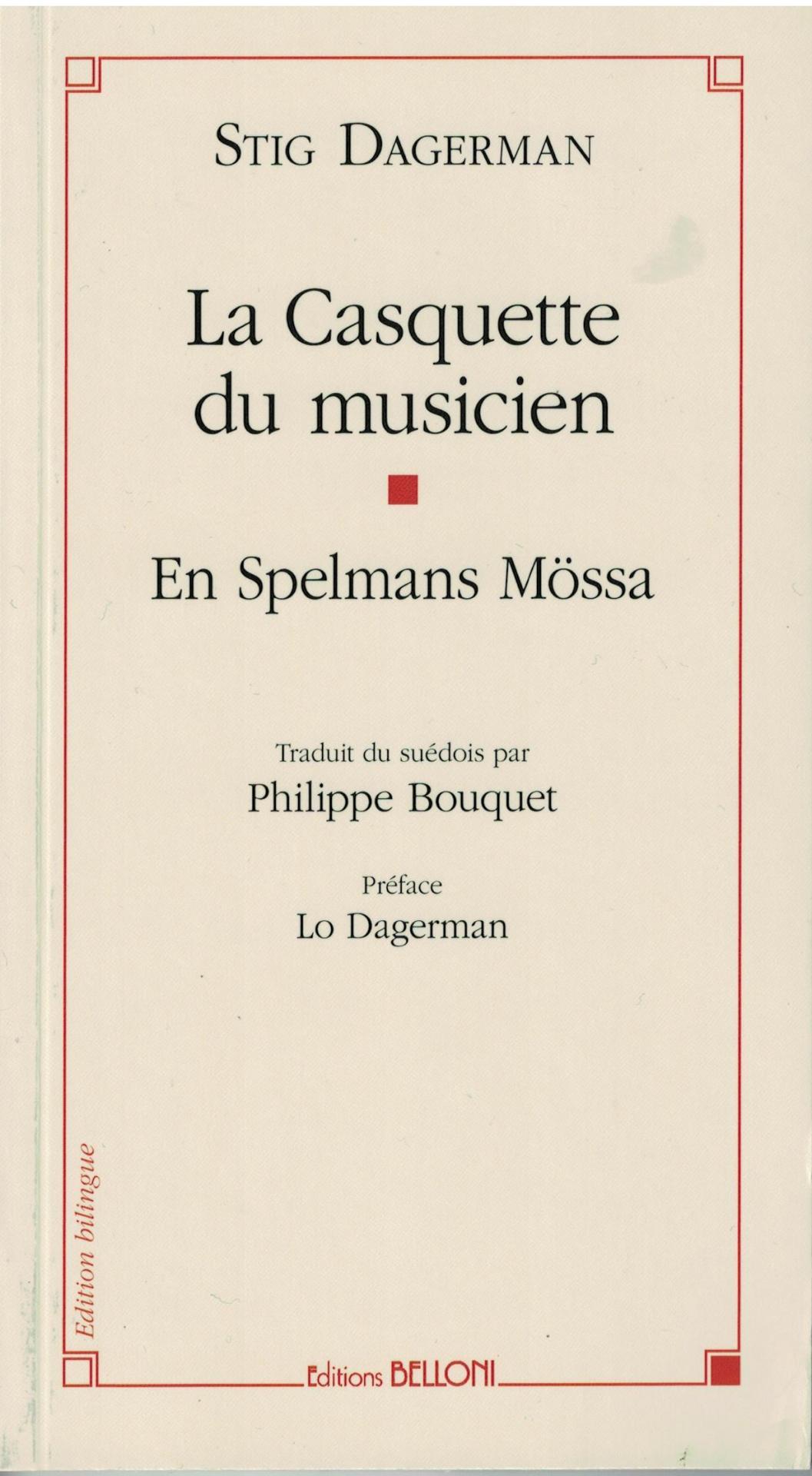 La Casquette du musicien - Stig Dagerman