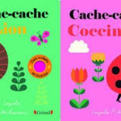 Cache-cache coccinelle & Cache-cache lion -  Ingela P. Arrhenius