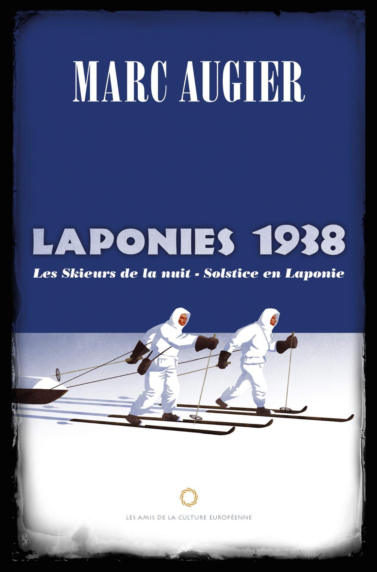 Marc augier laponies 1938 solstice en laponie les skieurs de la nuit couverture